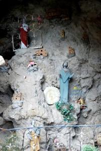 nativity scene in Praiano